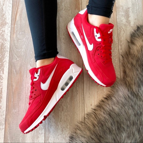 buy popular f8bea 49530 NWTNike ID Air Max 90 Custom Red!